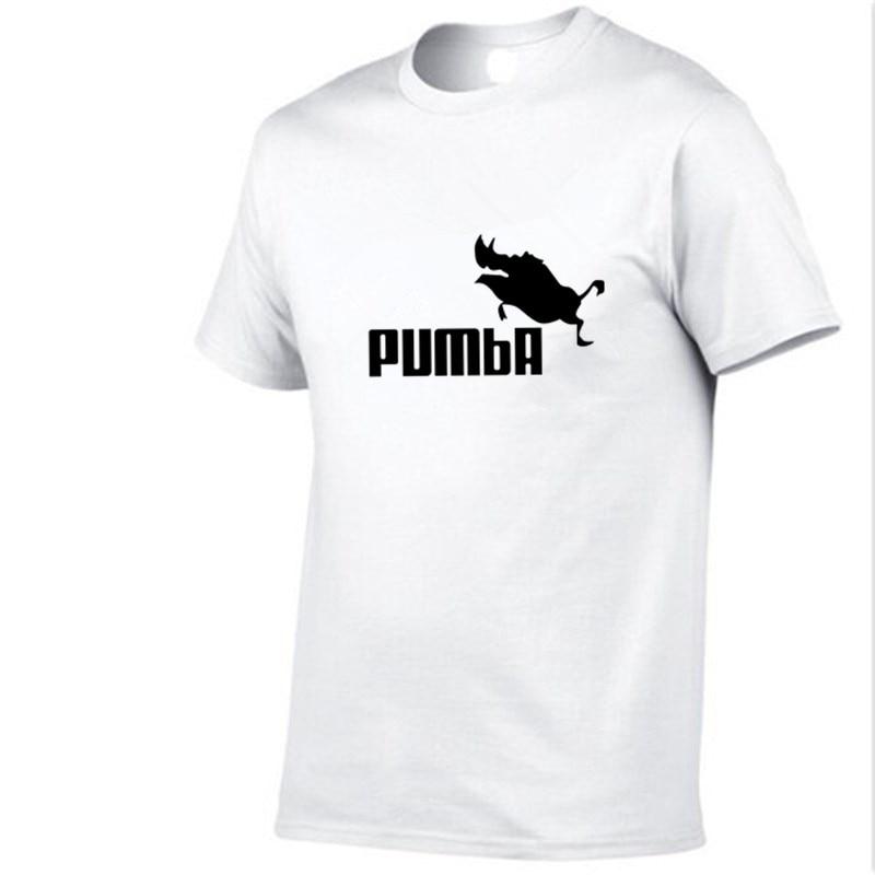 2019 New Arrivals Casual Male T-shirts Man pumba 3d print Men T Shirts Fashion Custom Graphic Tees Japanese Man T-shirt