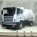 Brand New JOYCITY 1/43 Scale Truck Model Toys Sweden Scania Cement Mixer Diecast Metal Car Toy New In Box For Gift/Kids