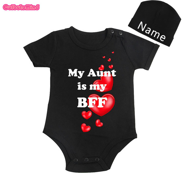 Culbutomind cute baby clothes my aunt is my bff personalized short culbutomind cute baby clothes my aunt is my bff personalized short sleeve for infants baby shower negle Image collections
