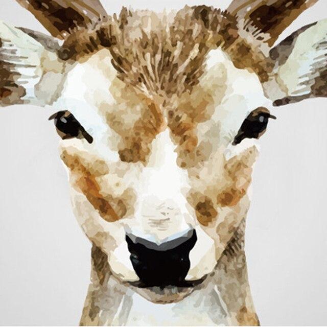 Deer Head 38*31inch 97*80cm 6