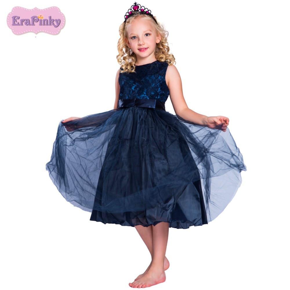 Erapinky Baby Girls Dress Summer 2018 Fashion Girl Princess Dress A Line Lace Casual Dresses For Girls Kids Party Dress платье для девочек party dresses for girls baby 2 11 casual girl dress