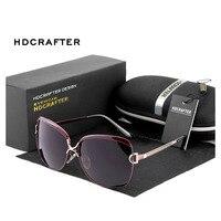 HDCRAFTER Sunglasses Celebrity Retro Fashion Polarized Sunglasses UV Mirror Wholesale E016