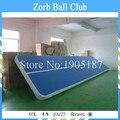 Frete grátis 10 x 2 m ar inflável roupa faixa, Trilho de ar para caindo, Salto inflável de roupa, Inflável ginásio de treino
