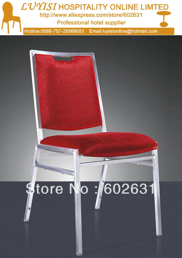 wholesale quality stacking Steel Banquet dining chair hot sale stacking steel banquet chair luyisi1039