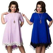 Tassel Dress Plus Size Female Clothing
