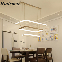Fashional Modern Chandeliers Ceiling Circle Rings Led Chandelier Light Chandelier Pendant Lamps White Acrylic Bedroom Lighting
