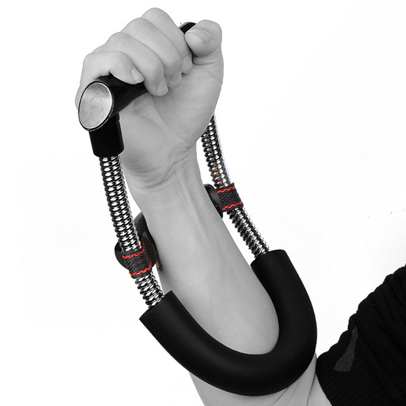 Gym Fitness Exercise Arm Wrist Exerciser Fitness Equipment Grip Power Wrist Forearm Hand Gripper Strengths Training Device