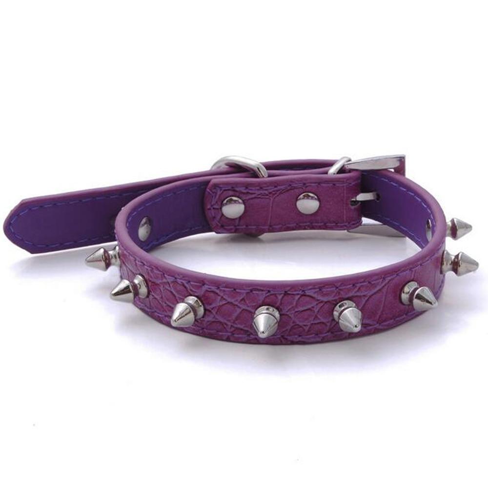 Small Studded Dog Collars