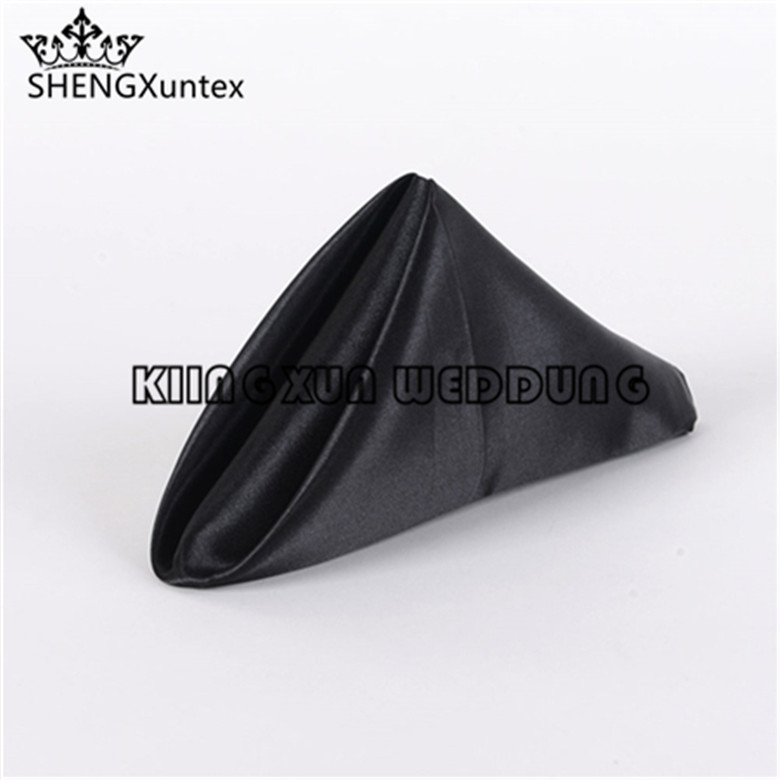Nice Looking Satin Table Napkin Used For Party Event Decoration Free Shipping