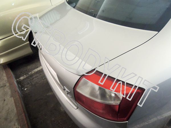 ФОТО FOR  02-05 A4 S4 B6 AB STYLE REAR WING TRUNK SPOILER