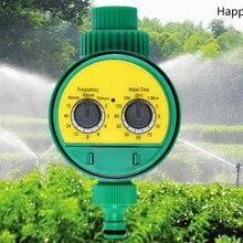 Садовый оросительный регулятор мульти-характеристики 2 циферблат электронный автоматический таймер полива воды таймер для сада контроллер