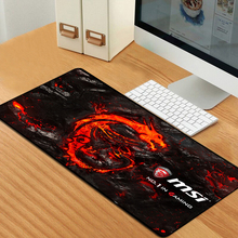 Msi Dragon Gaming Mousepad Rubber Pad for Laptop Computer