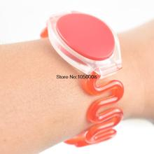 500pcs/lot 125Khz RFID Wristband Bracelet Silicone EM4100 Waterproof Proximity Smart Card Watch Type for Access Control