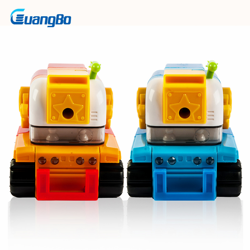 GuangBo School Mechanical Pencil Sharpeners Stationeries Office Supplies Pencils Sharpener Kakaii Pencil Sharpeners For Kids new arrival deli sweet house children pencil sharpeners 0724 cute cartoon students mechanical pencils writing supplies blue