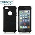 DIRECTopia Moda Luxo Dual Layer Robusto À Prova de Choque Airbag Grosso Duro capa phone case para apple iphone 5s 5 se 5c case