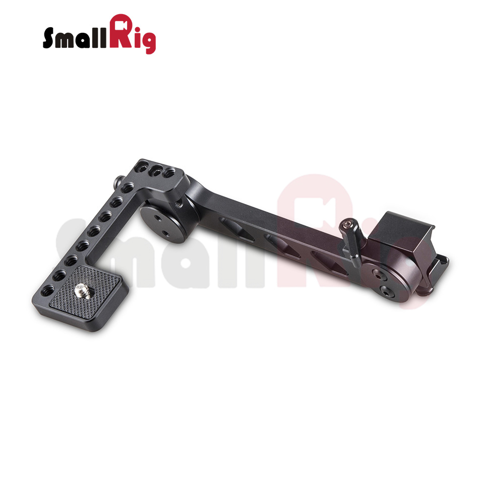 SmallRig EVF Mount (Nato clamp) Simpler and Faster to Mount it On Any Nato Standard Rail Accessories without Using Screws - 1897
