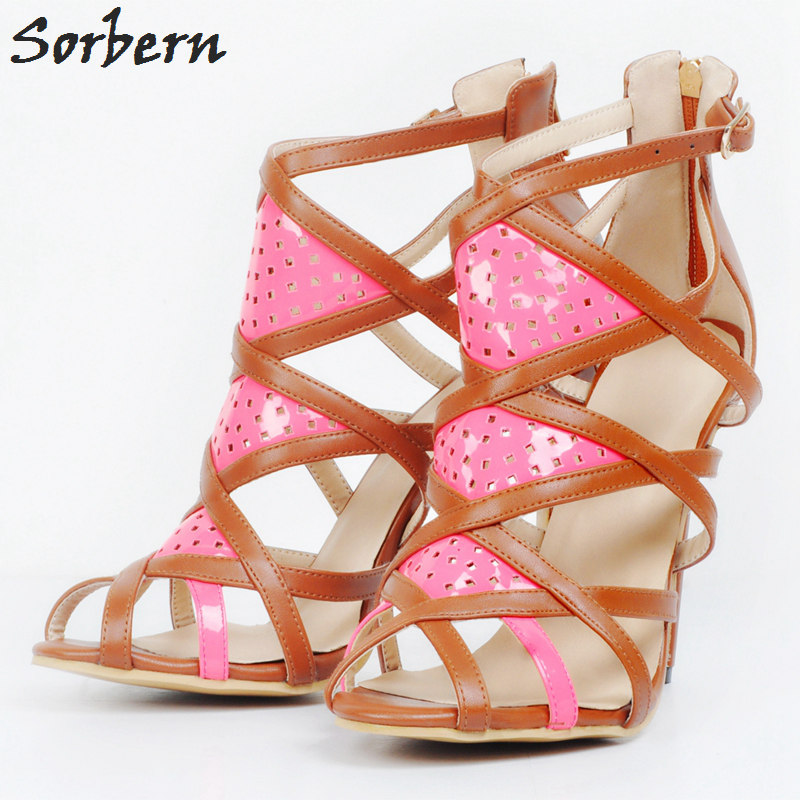 Sorbern Pumps Women Shoes Plus Size 45 Womens Sexy Shoes High Heels Party Shoes Pumps Ladies Heels High Heels Pumps Shoes yeelves new women fashion thin high heels pumps yellow or black heels court shoes pumps for ladies girl party plus size bowtie