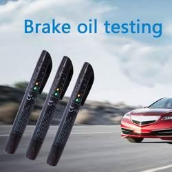 5 светодиодный s авто Тормозная жидкость тестовый прибор Универсальный торможение жидкая тестовая ручка светодиодный дисплей