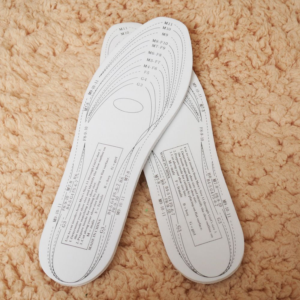 Comfort Orthopaedic Memory Foam Soles Pad Breathable Footrest Sports Arch Insole