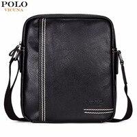 VICUNA POLO Casual Brand Men Crossbody Bag Leisure Multifunctional Shoulder Bag Solid Color Messenger Handbag Business