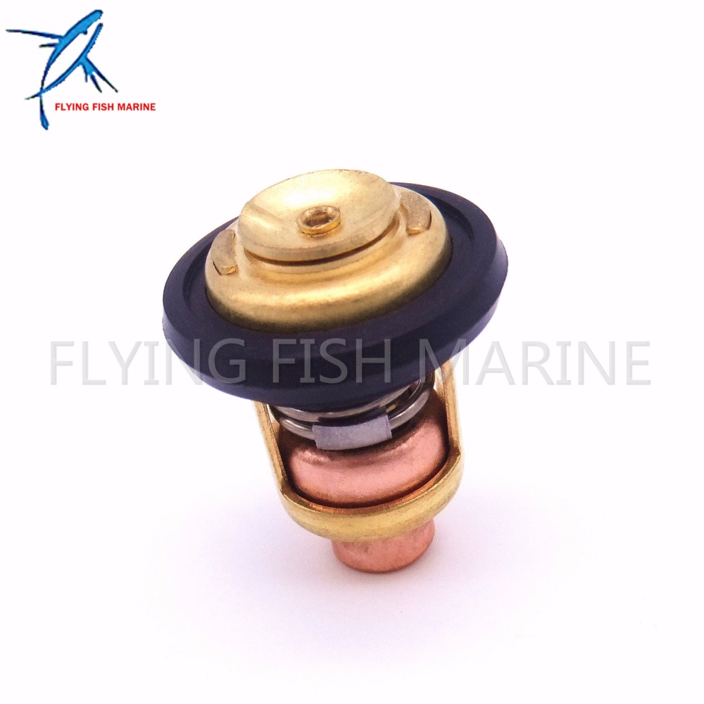 688-12411 6H3-12411 6E5-12411 Boat Motor Boat Motor Thermostat for Yamaha 2-Stroke 3HP 15HP 25HP 30HP 40HP - 250HP Outboard цены
