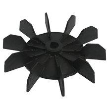 """Лучшие продажи замена 0,"""" Внутренний диаметр 10 крыльчатки воздушный компрессор двигатель лопасть вентилятора черный"""