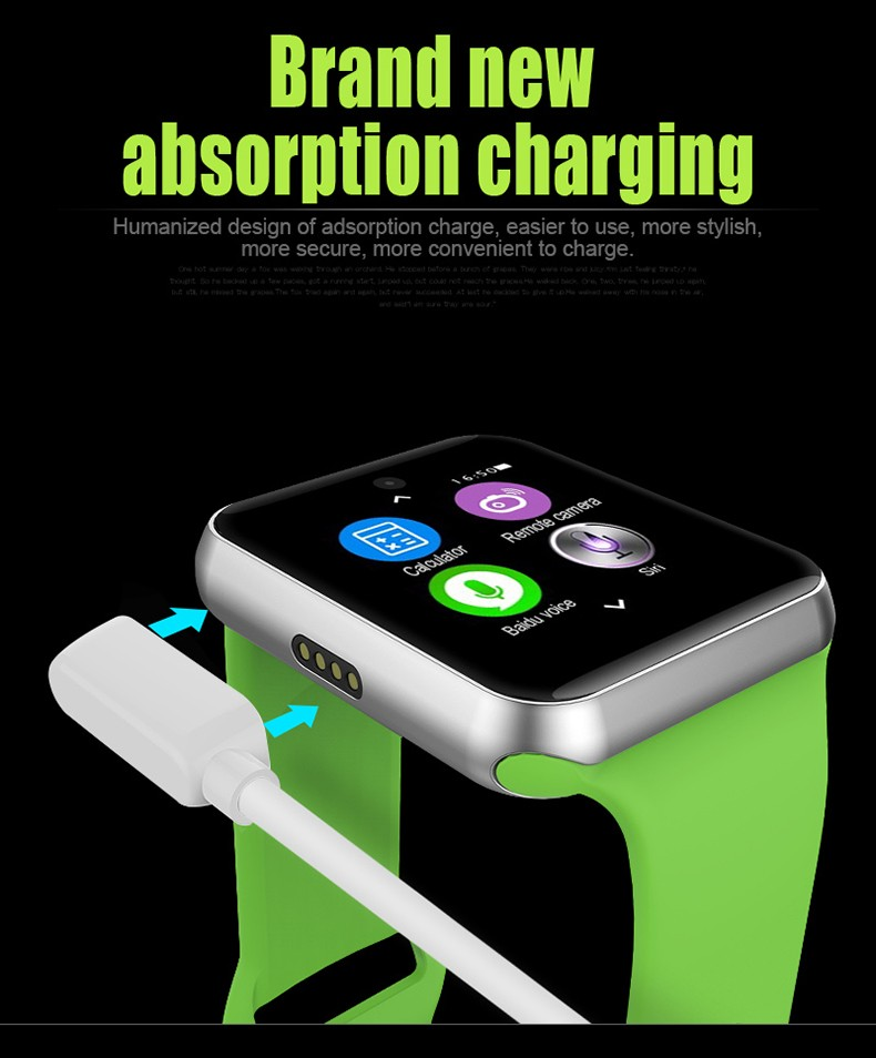 DM09 Bluetooth font b Smart b font font b Watch b font Phone 2 5D ARC