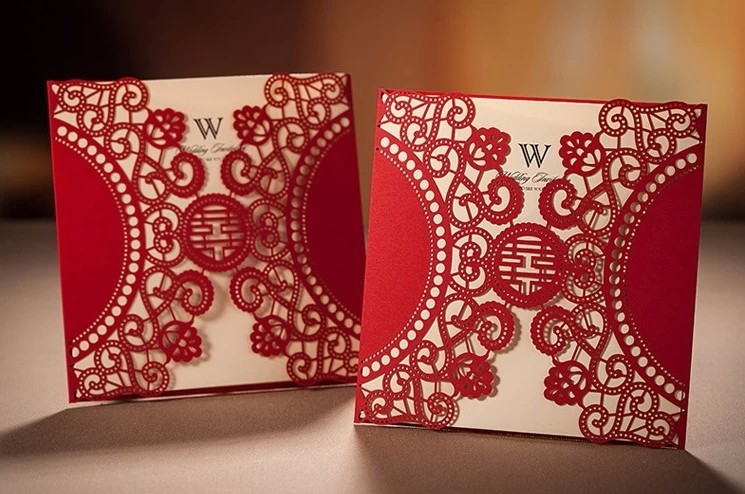 Chinese xi elegant wedding invitation card laser cut 2015 convites chinese xi elegant wedding invitation card laser cut 2015 convites casamento event party supplies in cards invitations from home garden on stopboris Choice Image