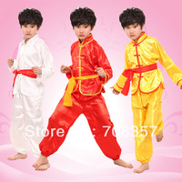 Wholesale Chinese National Costume Chinese Folk Dance Boys Martial Arts Clothing Suits S XXXL