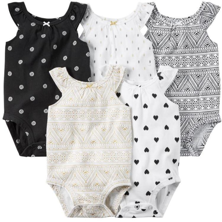 Baby Rompers Set Newborn Clothes Baby Clothing Girls Brand Cotton Jumpsuits Sleeveless Overalls Coveralls Summer Casual Style sanlutoz baby rompers set newborn clothes baby clothing boys girls brand cotton jumpsuits long sleeve overalls coveralls winter