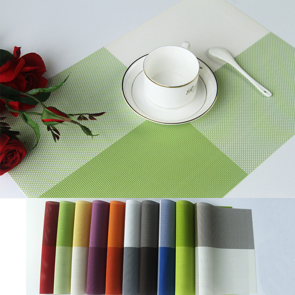popular placemats washablebuy cheap placemats washable lots from  - amy dining table mats cm pvc placemat coaster washable nonslip heat
