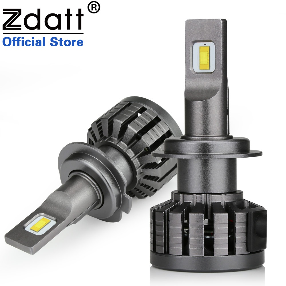 Zdatt Super Brgiht H4 Led Bulb 100W 10000LM Headlights H1 H7 H8 H9 H11 9005 HB3 Car Led Light Canbus Moto Lamp 12V Automobiles цены