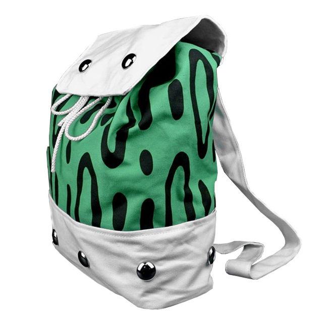 One Piece Portgas D Ace Backpack Shoulder Bag Canvas School Bags