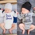 Новорожденный Мальчик Девочка Дети Хлопка Ползунки Комбинезон Экипировка Одежда новорожденных детская одежда костюм младенца romper младенца новорожденного