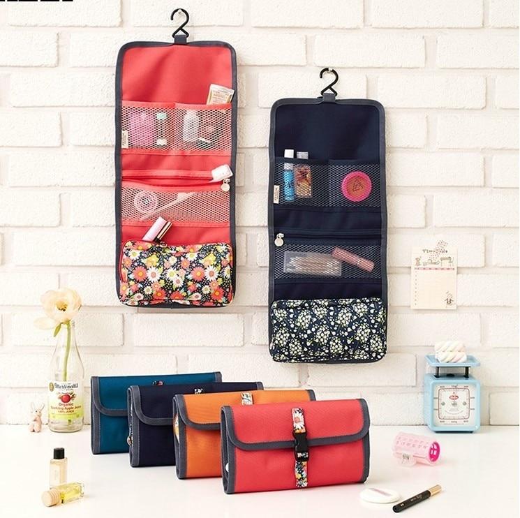 Case Cosmetic-Case Makeup-Bag Jewelry-Organizer Hanging-Toiletries Travel-Kit Women
