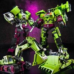 Transformatie oversize ko gt JinBao Devastator figuur speelgoed Hexahedral Techniek Voertuig Vervorming Speelgoed