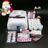 New Direct Selling Set For Nail Gel Manicure Set Btt 92 Professional Lamp Uv Gel Nail Kit , Unhas De Free Shippingmanicure Set