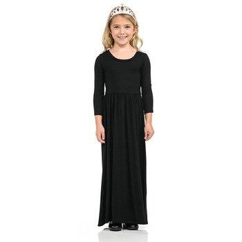 Maxi Girls Summer Dresses Elegant Kids Clothes Unicorn Dress Infantil Autumn 2018 Baby Girls Dress Long Bohemian Vestidos Menina 1
