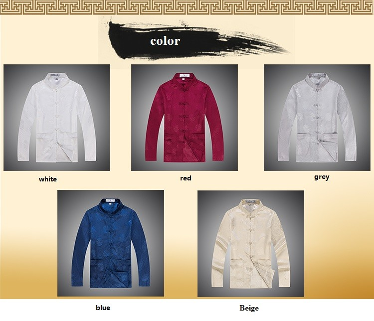 male cotton cheongsam blouse oriental clothes long sleeve cotton cheongsam blouse traditional mens clothes (7)