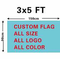 Custom Flag Banner Any Logo Any Color Banner Sports Fans Company Advertisement Flag Banner New 3x5ft 150x90cm, free shipping