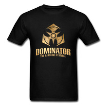 DOMINATOR The Hardcore Festival Game T Shirt Black Faddish Style Youth Cotton Tshirt Crew Neck Leisure Custom Tshirts For Men