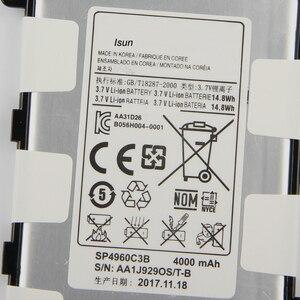 Image 3 - מקורי 4000mAh SP4960C3B סוללה עבור Samsung Galaxy Tab 2 7.0 GT P3110 GT P3113 P3100 P3110 P6200 P3113 עם כלי