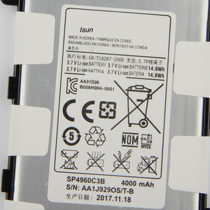 Image 3 - Original 4000mAh SP4960C3B แบตเตอรี่สำหรับ Samsung Galaxy Tab 2 7.0 GT P3110 GT P3113 P3100 P3110 P6200 P3113 เครื่องมือ