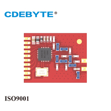 CDEBYTE 2PCS/Lot E10-433M 433MHz SI4463 SI4432 SI4460 Wireless SPI Module 1.8km with spring antenna Replace Bluetooth
