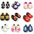Классический Новорожденного Ребенка Обувь Из Натуральной Кожи Младенца Первые Ходоки Мокасины Мягкие Moccs Подошве Шпаргалки Дети Мальчик Девушки Обувь