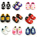 Classic Newborn Baby Genuine Leather Shoes Infant First Walkers Moccasins Soft Moccs Soled Shoes Crib Kids Boy Girls Footwear