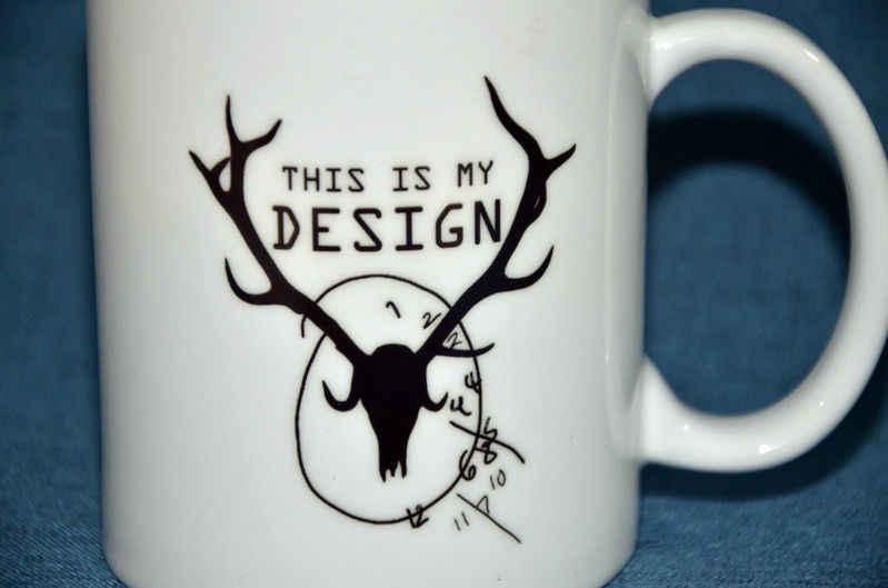 Hannibal Ini Adalah Desain Mug Rusa Mug Keramik Kreatif Kopi Teh Susu Mug Cangkir Koleksi Natal Cangkir Dekorasi Rumah hadiah
