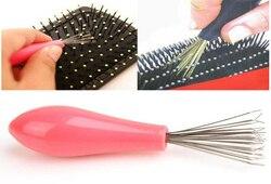 Расческа для чистки волос, средство для удаления волос, инструменты для красоты, пластиковые ручки, бесплатная доставка, разные цвета