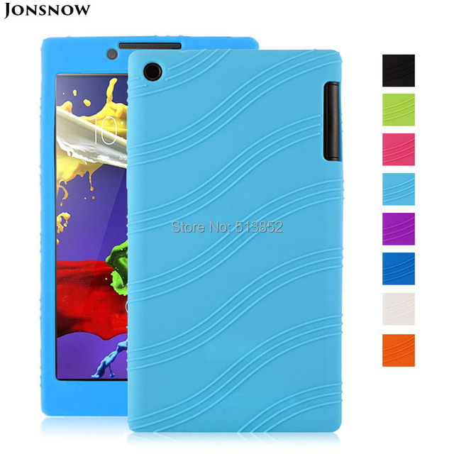 Protective Case for Lenovo Tab 2 A7-30TC / A7-30HC / A7-30 DC 7 inch Pudding Anti Skid Soft Silicone TPU Protection