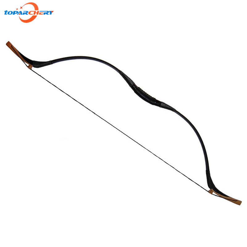 Handmade Archery Recurve Bow 30lbs 35lbs 40lbs for Hunter Hunting Shooting Training Target Practice Traditional Wooden Longbow 1 piece hotsale black snakeskin wooden recurve bow 45lbs archery hunting bow